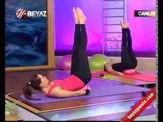 Ebru Şallı Bacak İnceltme ve Kalça Sıkılaştırma Pilates Egzersizleri - YouTube