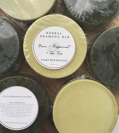 Ayurvedic Herbal Shampoo Bar   Neem   Peppermint   Tea Tree   Clean & Refreshing