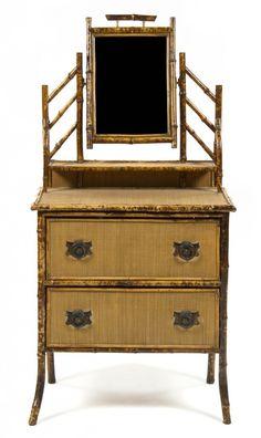 Victorian Bamboo Dresser