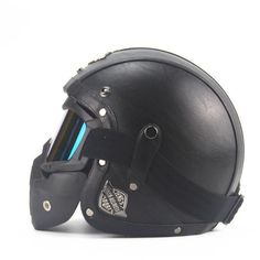Cheap helmet open face, Buy Quality helmet open directly from China vintage motorcycle helmets Suppliers: Adult Leather Harley Helmets Motorcycle Helmet High quality Chopper Bike helmet open face vintage motorcycle helmet motocros Dot Approved Motorcycle Helmets, Leather Motorcycle Helmet, Open Face Motorcycle Helmets, Motocross Helmets, Open Face Helmets, Bicycle Helmet, Football Helmets, Riding Helmets, Bike Helmets