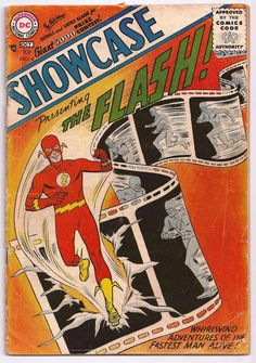 Showcase #4 - 1st Appearance and Origin of SA Flash (Barry Allen) Not CGC