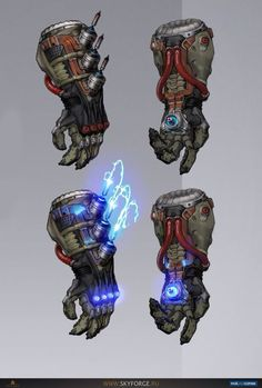 Electrified Gauntlets