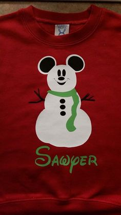 Disney Vacation Christmas Party Matching Family Shirts! Perfect for Mickey's Very Merry Christmas Party! by OnceUponATeeShop on Etsy