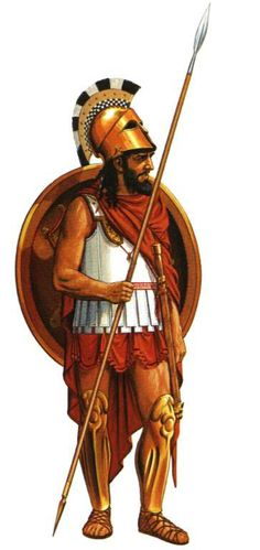"""Spartan Hoplite. At the height of Sparta's power – between the 6th and 4th centuries BC – it was commonly accepted that, """"one Spartan was worth several men of any other state."""" According to Thucydides."""