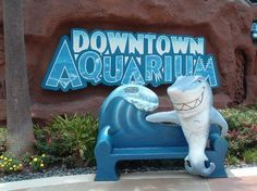 Dowtown Aquarium  410 Bagby St., Houston, TX 77002 6 minutes away, $10 Admission