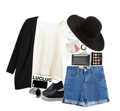 """""""Untitled #2302"""" by sisistyle ❤ liked on Polyvore featuring Royce Leather, Monki, Casetify, Bobbi Brown Cosmetics and Dsquared2"""