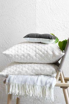 Pikowana poszewka na poduszkę | H&M
