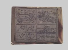 French vintage rubber stampsseasons by Papeteriedeparis on Etsy, €7.00