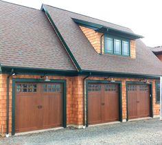 Faux Wood Garage Doors Clopay Canyon Ridge Photos Reviews