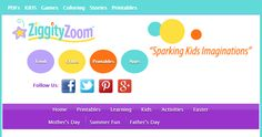 """This is an image from this resource on the Internet4Classrooms' """"Activities for Mother's Day at Internet 4 Classrooms"""" resource page:    Ziggity Zoom's.    Ziggity Zoom's Mother's Day Resources include some very creative projects; cards, crafts, bookmarks, cooking and more!"""