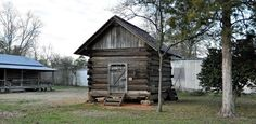 Old Turner Corn Crib located at the Clarke County Historical Museum in Grove…
