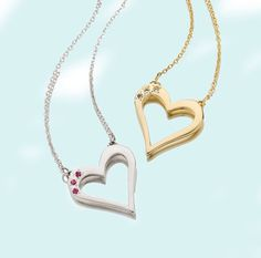Double the love <3 <3 See more on LiliKleinJewelry.com! #LiliKlein