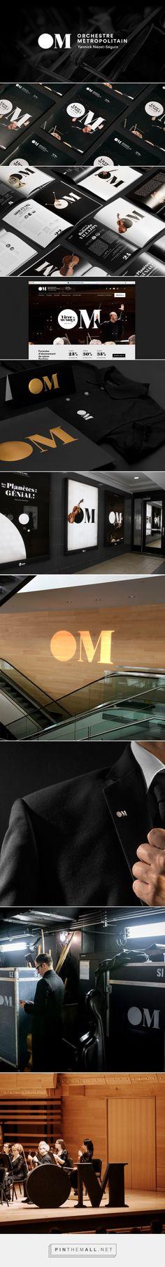 Orchestre Métropolitain brand identity - byHAUS - created via https://pinthemall.net