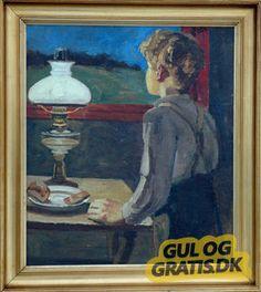 GulogGratis.dk - Maleri af Chr. Aigens (1870-1940)