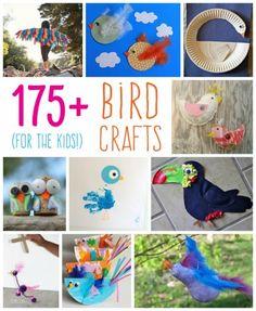 175+ Bird Crafts for Kids