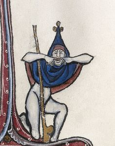 Bute Psalter, Paris ca. 1285    LA, The J. Paul Getty Museum, Ms. 46, fol. 12r