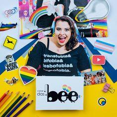 Canal das Bee é símbolo de representatividade no YouTube! #FazendoArteNaDia #scrapbooking