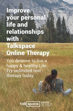You Deserve to Live a Happy & Healthy Life. Get Matched with a Licensed Online Therapist and Chat Privately about Family and Relationship Issues Anytime & Anywhere with Talkspace Online Therapy. Unlimited Messaging, Audio, & Video Plans Starting @ $32/wk. Get Matched to Your Personal Therapist Now!