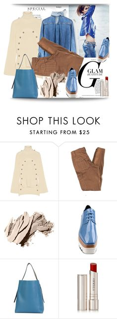 """""""just for me"""" by metka-belina ❤ liked on Polyvore featuring Monse, Trina Turk, Bobbi Brown Cosmetics, STELLA McCARTNEY, Valextra and By Terry"""