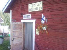 Tuuralan kyläkaffila, Tuurala, Isokyrö. This is where we organize the Kaffilarock festival. :)