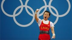 Wang claims first Weightlifting gold - London 2012 OlympicsWang Mingjuan of China triumphs. Wang Mingjuan celebrates after a lift in the women's 48kg.  The 26-year-old triumphed with a combined total of 205kg, snatch 91kg and clean and jerk 114kg.