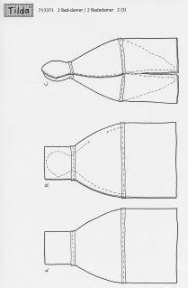 Artesanato e Cia : Tildas Gordinhas - moldes