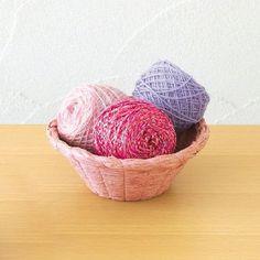 Basket Frame made with raffia