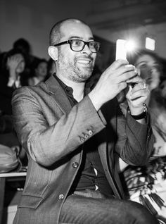 Keith Baptista, Co-founder of Made, New York Fashion Week. Photo taken with an HTC One. #HTCmade