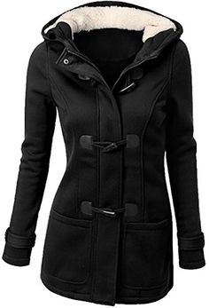 219448eefa Buy Plus Size Winter Jacket Women Hooded Winter Coat Fashion Autumn Women  Parka Horn Button Coats chaqueta mujer veste femme at Wish - Shopping Made  Fun