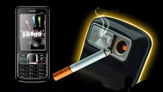 Para los que todavía no se han dejado de fumar.. hay inventos para todos!