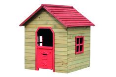 Casetta Fantasy Rossa in legno di abeteMisura: L 120x P125x140h rossa Dimensioni: H. 140 P. 125 L. 120 Peso: 33 kg Materiale: Legno di abete Porta in plastica rossa Non è dotata di pavimento Adatta a bambini di 3/7 anni anche per uso domestico.  http://www.gvshop.it/arredo-giardino-giochi-da-esterno/89427-casetta-fantasy-rossa-in-legno-di-abetenmisura-l-120x-p125x140h-8023755045838.html