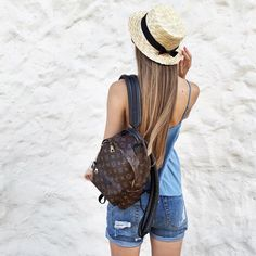 Louis Vuitton Backpack, Louis Vuitton Handbags, Fashion Backpack, Tommy Hilfiger, Backpacks, Fashion Outfits, My Style, Lady, Wallets