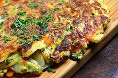 R'n'G Kitchen: Tortilla z młodych warzyw