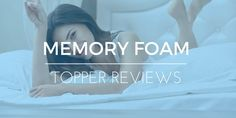 Uncomfortable mattress may cause poor sleep and health, memory foam mattress topper can be a great idea. Read on to know all that you needed to know memory foam mattress toppers and about some of the best memory foam toppers.