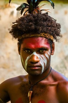 Wetr tribal dancers, Hnathalo, Lifou (island), Loyalty Islands, New Caledonia via Blaine Harrington photography