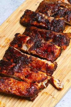 Air Fryer Oven Recipes, Air Frier Recipes, Air Fryer Dinner Recipes, Fried Ribs Recipe, Boneless Pork Ribs, Actifry Recipes, Cooks Air Fryer, How To Cook Ribs, Air Fried Food