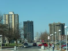 The 3 tallest buildings in Sprgingfield, MO: Sunvilla Tower, Hammons Tower, and One Parkway Place.
