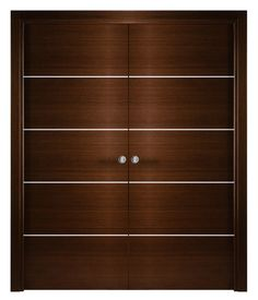 Arazzinni Mia Interior Double Pocket Door Wenge