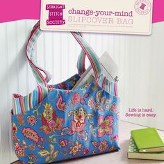 Change-Your-Mind Slipcover Bag sewing pattern