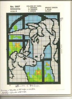 Pattern i used to make my Unicorn Wallhanging Christmas Wall Art, Plastic Canvas Christmas, Plastic Canvas Crafts, Plastic Canvas Patterns, Pc Photo, Swedish Weaving, Faux Stained Glass, Stuffed Animal Patterns, Cross Stitching