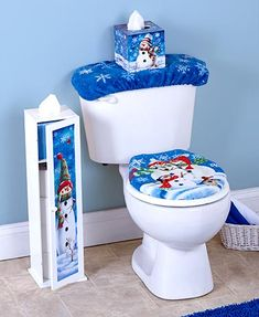 High Quality Snowman Bathroom. See More. Use This Decorative Piece To Cover Up Your  Tissue Box With A Charming Country Design.