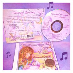 "Multi Award Winning Lullaby Cd, ""Carousel Dreams - a Collection of Lullabies"" #cd #babymusic #lullabies #infant #newborn #lullaby #moondreamsmusic #carousel #carouseldreams"
