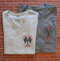 Race Car Party Parent Shirts