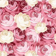Find Seamless Pattern Pink White Roses Vector stock images in HD and millions of other royalty-free stock photos, illustrations and vectors in the Shutterstock collection. Tree Wallpaper Mural, Wallpaper Wa, Tree Wall Murals, Wallpaper Backgrounds, Seamless Background, Textured Background, Murals Your Way, Tree Images, Arte Floral