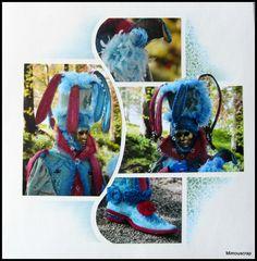 Costumés Vénitiens d'Annevoie - En rose et bleu