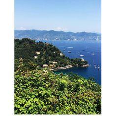 Portofino vista dalla casa della mia amica