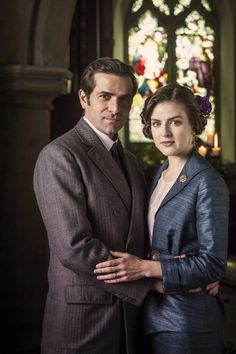 Grégory Fitoussi & Aisling Loftus in Mr Selfridge
