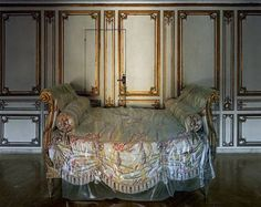 Madame du Barry's bed in Versailles