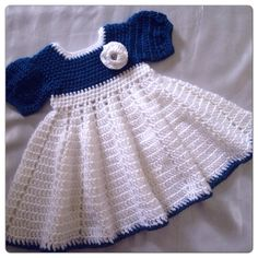 baby girl crochet dress pattern baby dress by CreationsBabyB Crochet Dress Girl, Crochet Baby Dress Pattern, Baby Girl Dress Patterns, Baby Clothes Patterns, Baby Girl Crochet, Crochet Baby Clothes, Crochet Baby Shoes, Baby Girl Dresses, Crochet For Kids