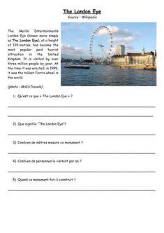 Sequence D Anglais Sur Londres En 6eme Recherche Google Londres Anglais